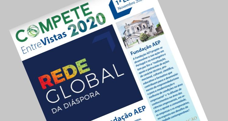 Compete 2020 destaca o Projeto da Fundação AEP, Rede Global da Diáspora
